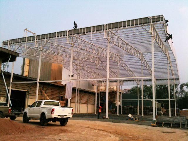 รับสร้างโรงงานผลิดแร่ราชบุรี โครงสร้างแบบน็อกดาว
