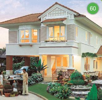 แบบบ้านสองชั้น 3 ห้องนอน 3 ห้องน้ำ 153 ตร.ม ราคา 1.53ล้าน (เฟื่องฟ้า)