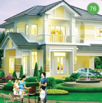 แบบบ้านสองชั้น 3 ห้องนอน 3 ห้องน้ำ 235 ตร.ม ราคา 2.35ล้าน (ชมพูนุช)