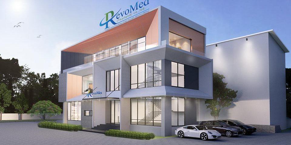 - 05.21.2018 เริ่มทำการก่อสร้าง อาคาร โรงงานสินค้า บริษัท REVOMED (1)